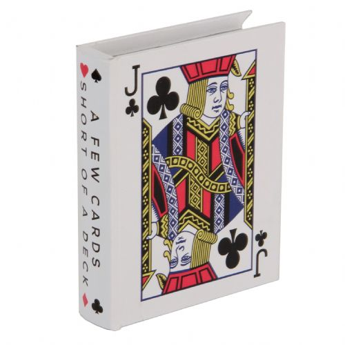 Poker Playing Card Storage Box Featuring Jack Of Clubs